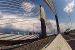 Новый мост через Дунай связал Болгарию и Румынию